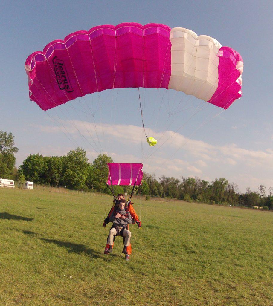 saut en parachute Toulouse