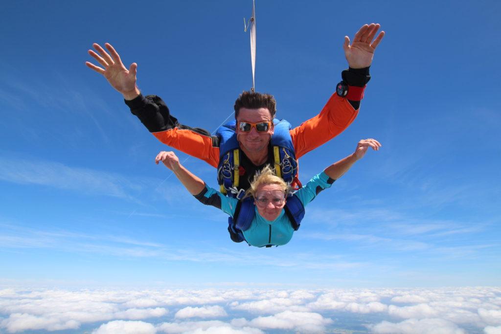 Baptême en parachute à Albi