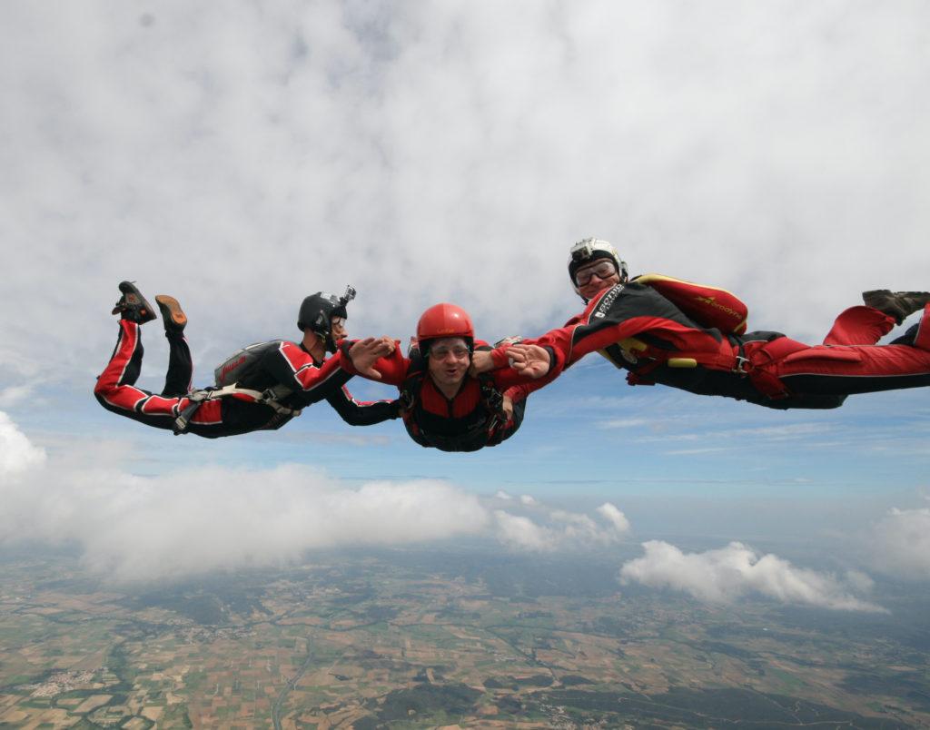 baptême en parachute Toulouse